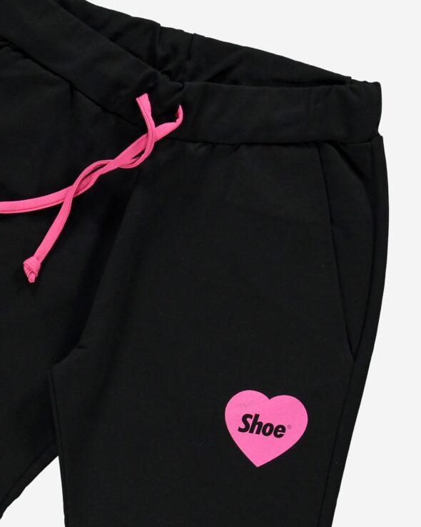 shoe pantalone donna modello philipa2067 jersey nero