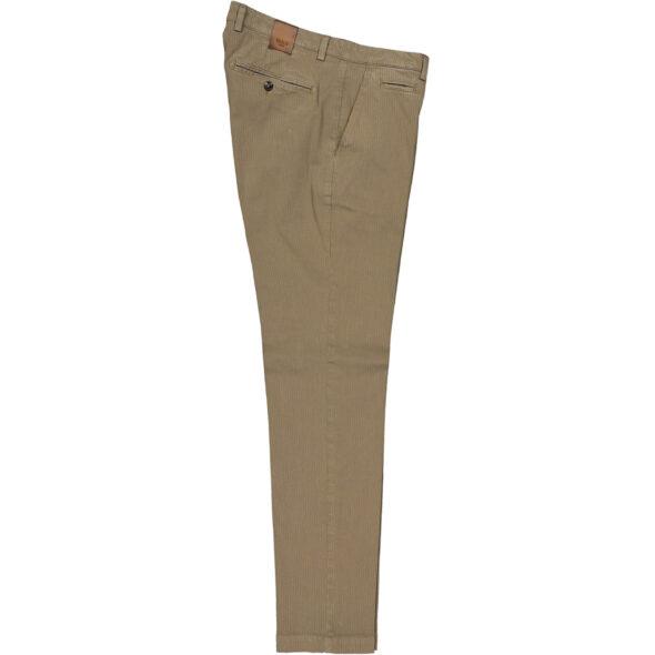 briglia 1949 pantalone slim uomo bg05 320745 772 cotone costina delavè beige scuro