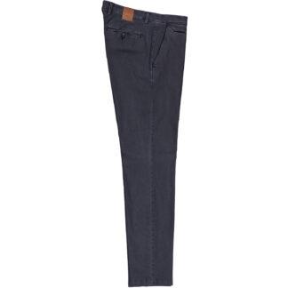 briglia 1949 pantalone slim uomo bg05 38575 511 cotone piquet delavè blu