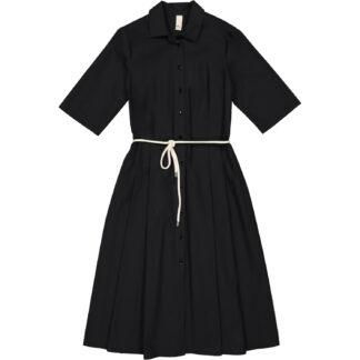etici abito camicia colore nero in cotone a27148 00100