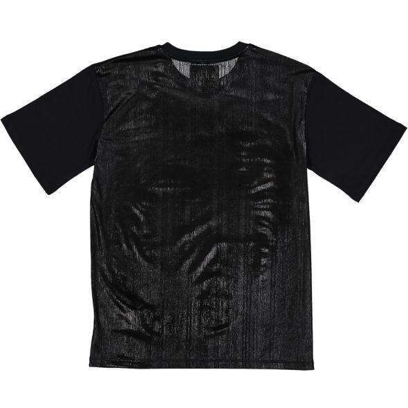 shoe maglietta in cotone tianna 2360 nera black