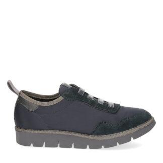 panchic uomo modello slip on p05 in nylon e suede colore blu cobalto p05m1601000018 t08000