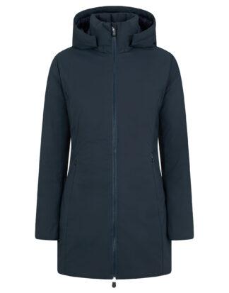 save the duck donna modello d40060w rachel con cappuccio staccabile colore blue black 90010