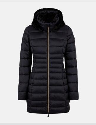 save the duck cappottino donna modello d40280w maylin colore nero 10000
